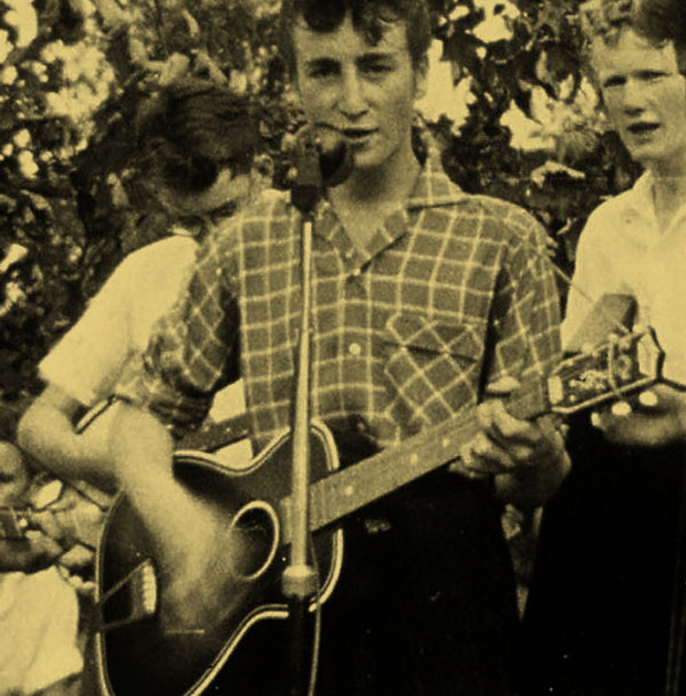 John Lennon, with the Quarrymen